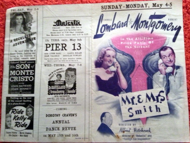 carole lombard mr. & mrs. smith majestic theater dallas 00a back