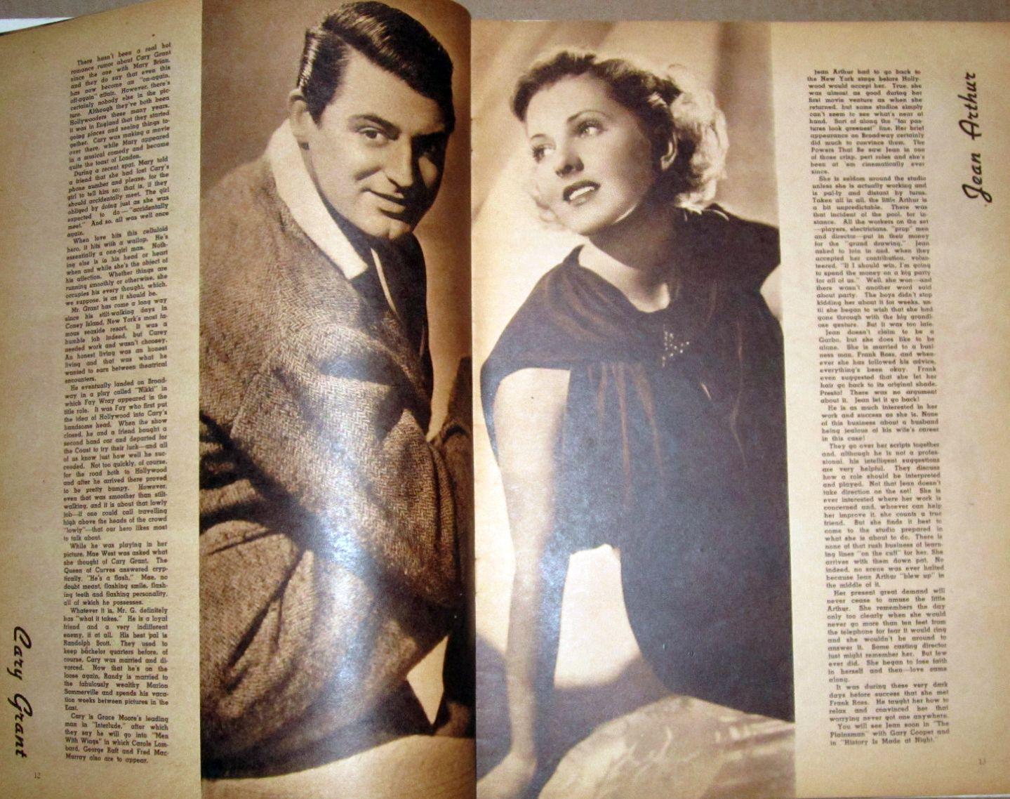 screen album for 1937 grant arthur large