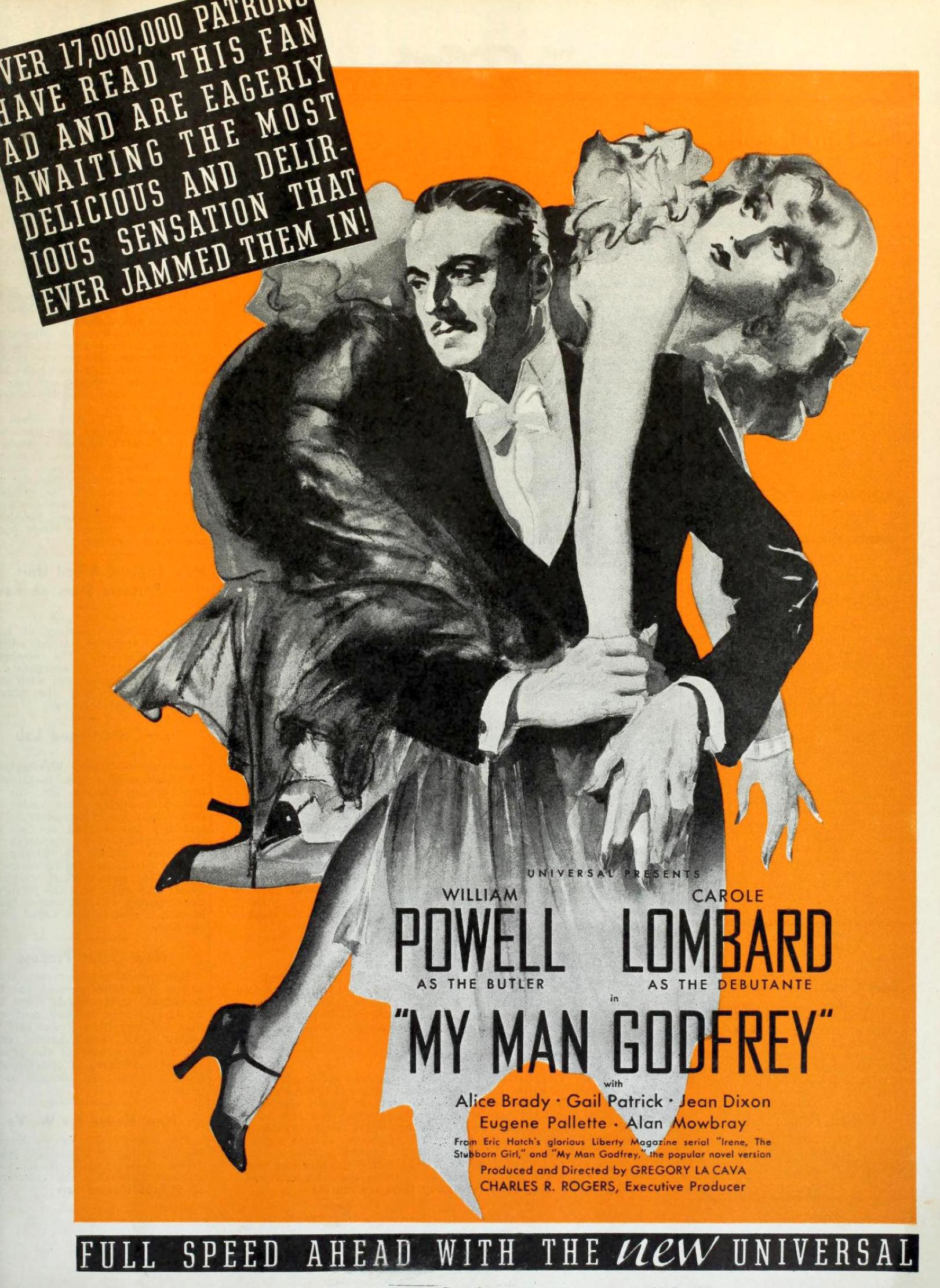 carole lombard my man godfrey film daily 081836a