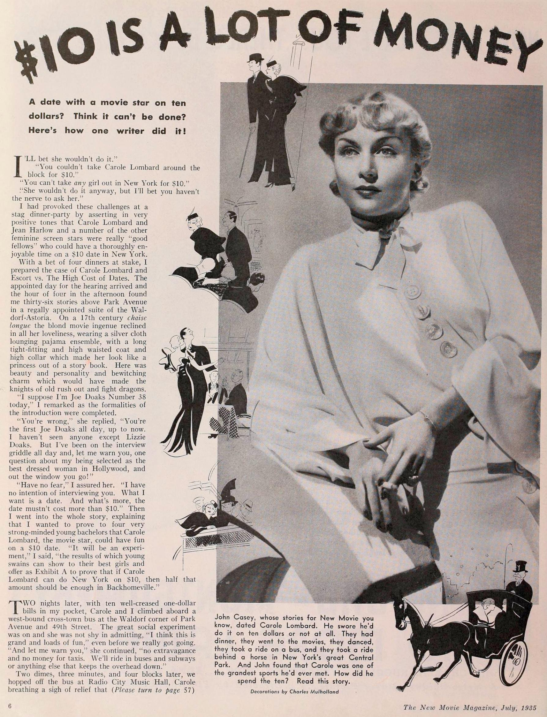 carole lombard the new movie magazine july 1935aa
