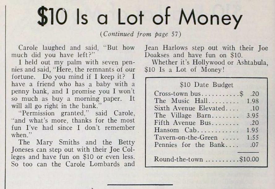 carole lombard the new movie magazine july 1935ca