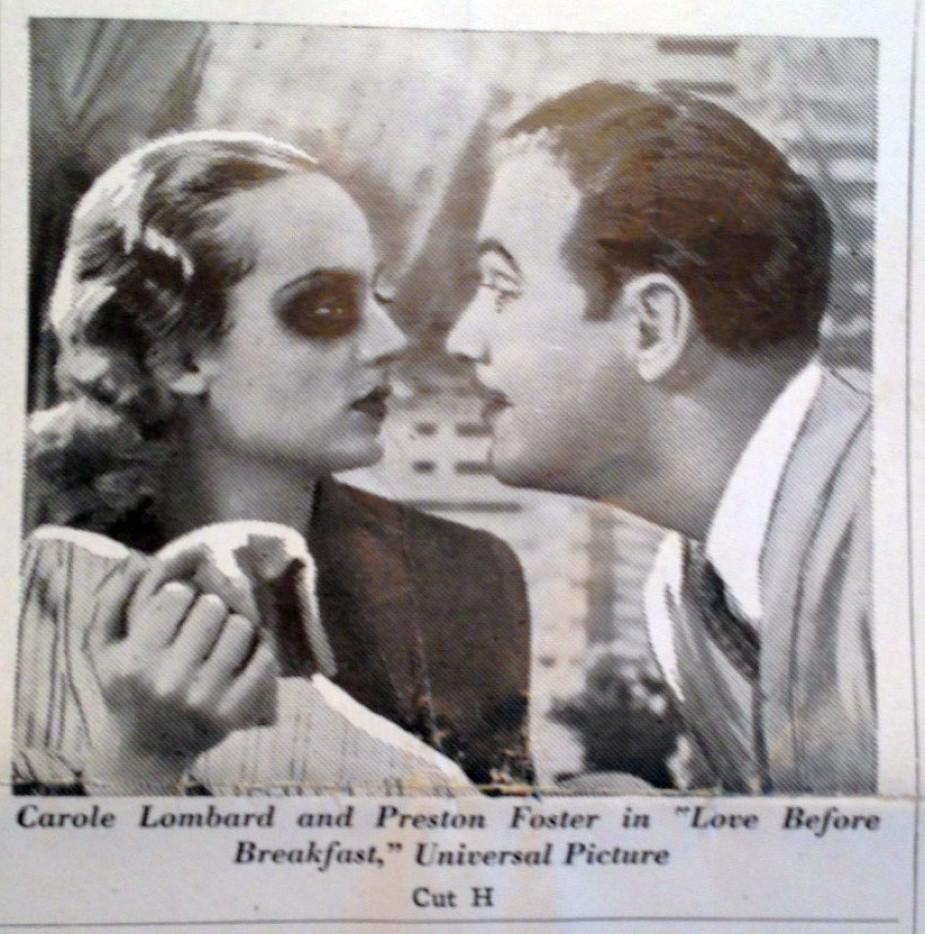 carole lombard love before breakfast pressbook 09a