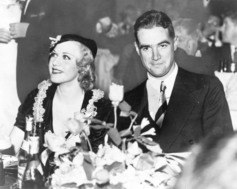 ginger rogers howard hughes 1937