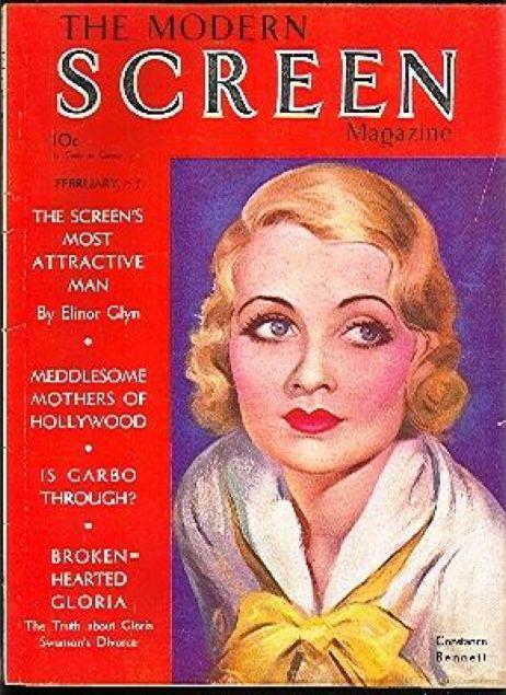 modern screen february 1931 constance bennett