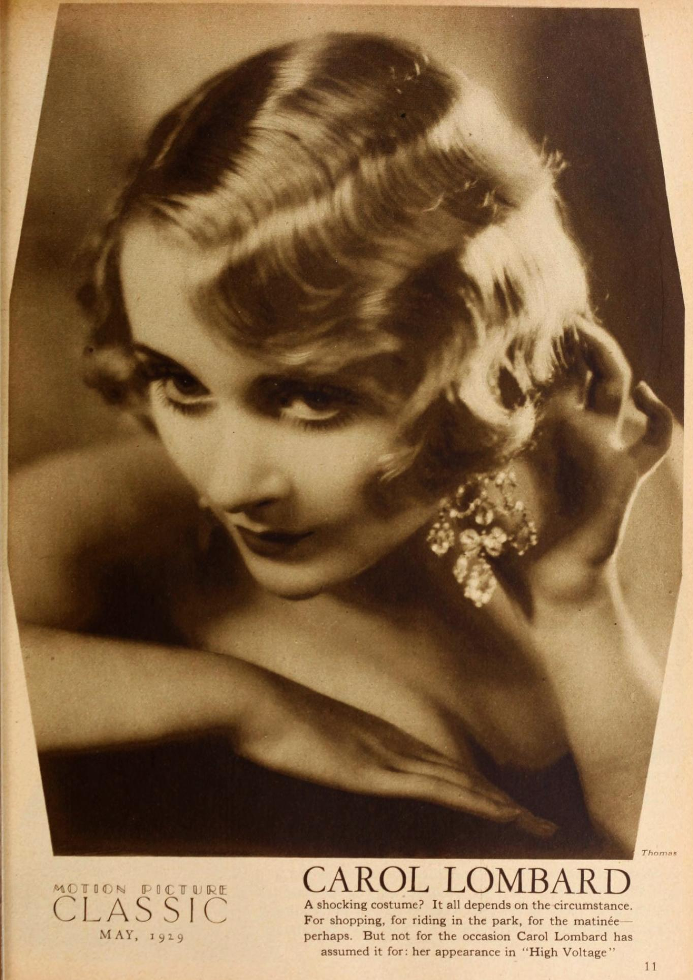 carole lombard motion picture classic may 1929a