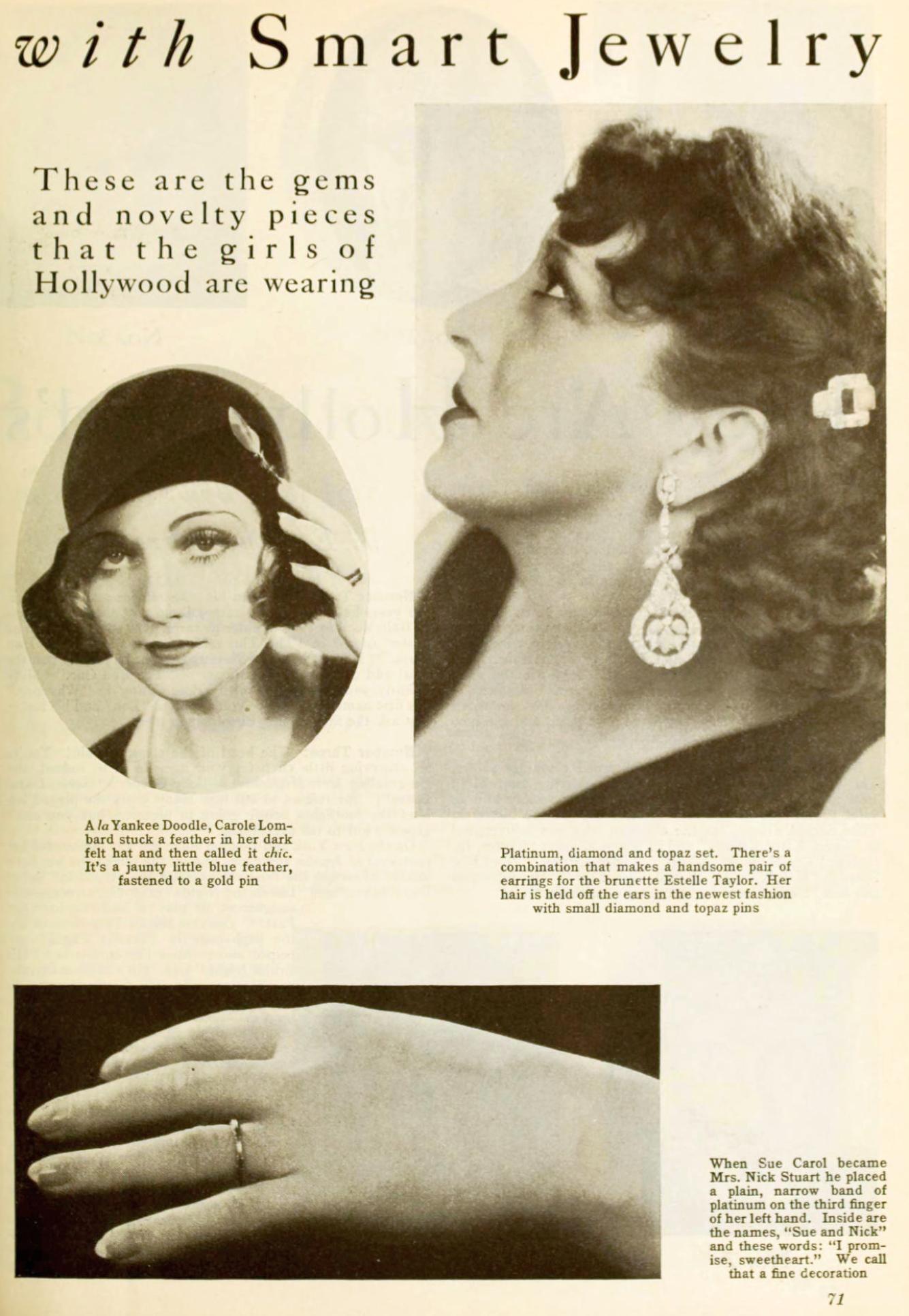 carole lombard photoplay march 1931ba