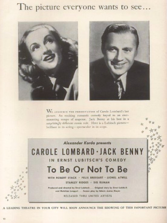 carole lombard to be or not to be ad 00b