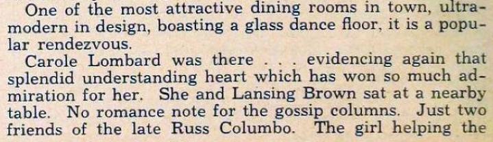 carole lombard hollywood february 1935eb