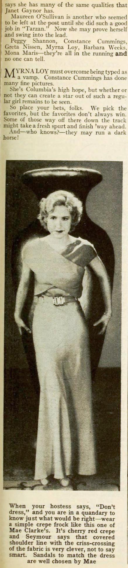 carole lombard photoplay april 1932ea