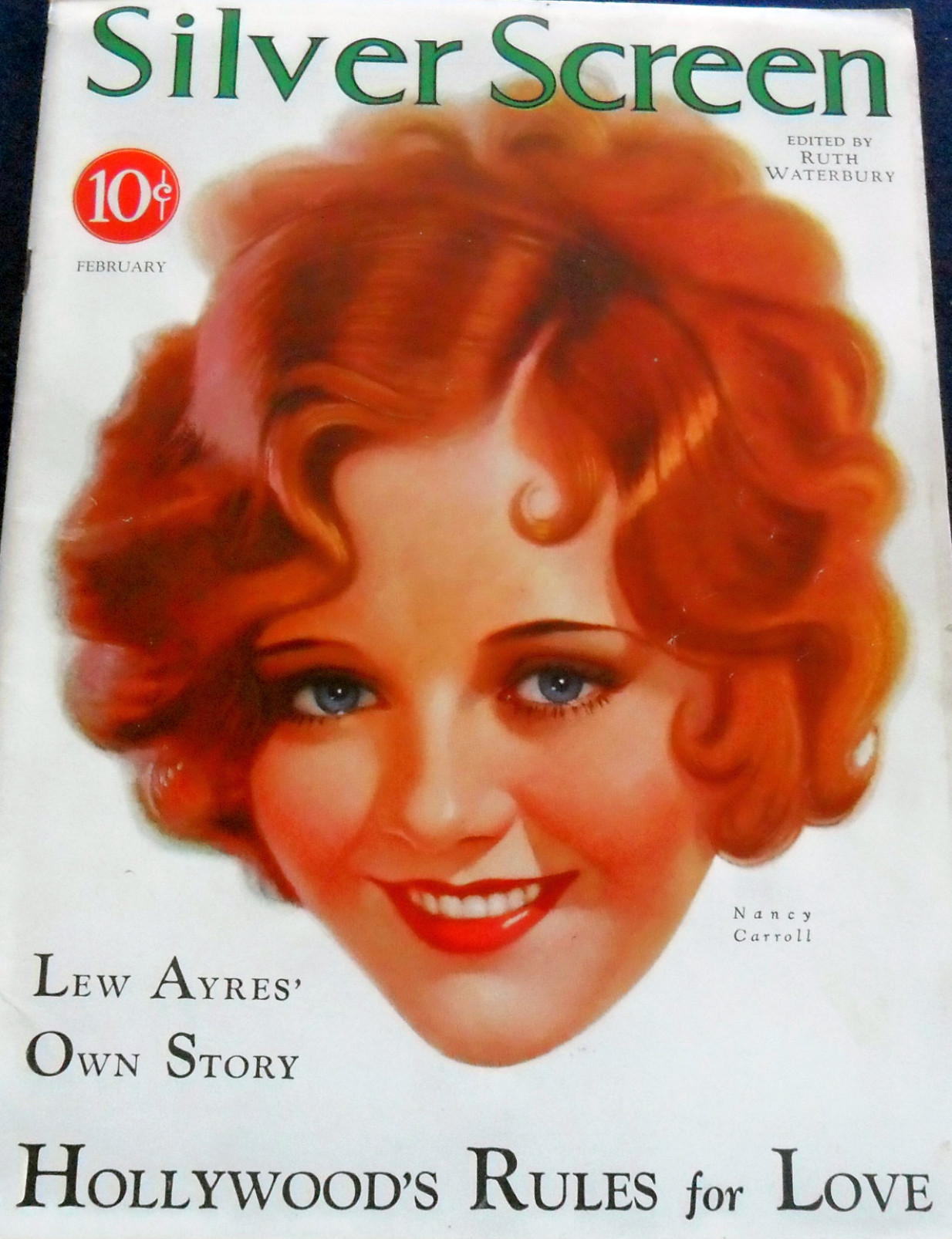 silver screen february 1931a cover