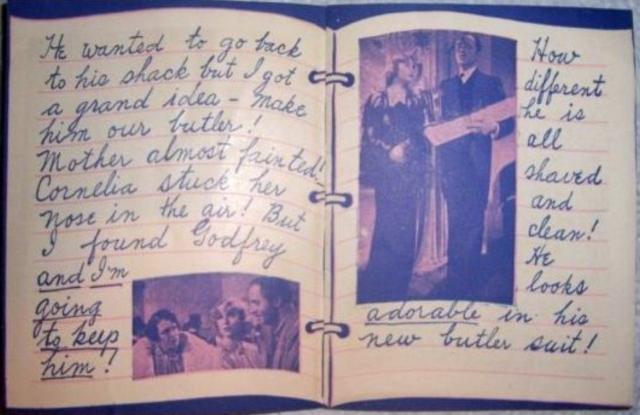 carole lombard my man godfrey diary of a debutante 02