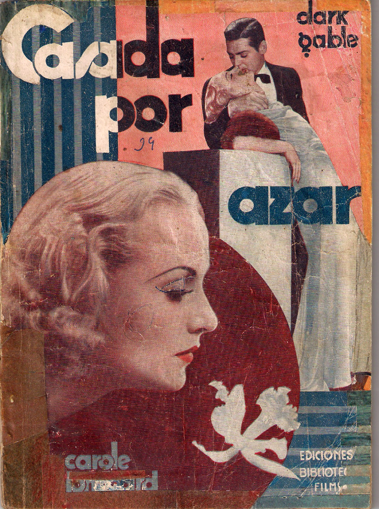 carole lombard no man of her own spanish photoplay 00b