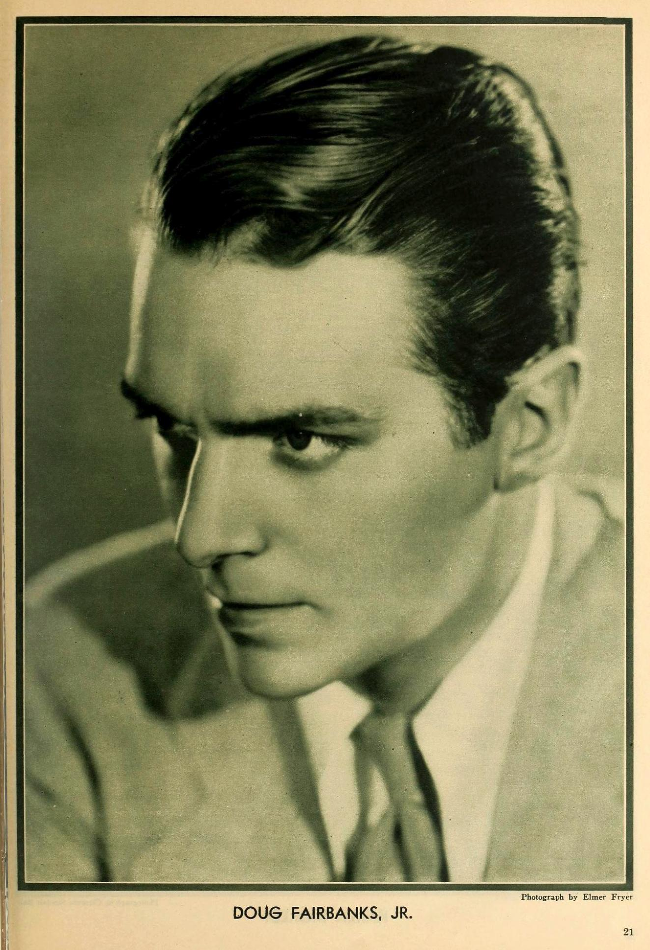 the new movie magazine august 1931 douglas fairbanks jr large