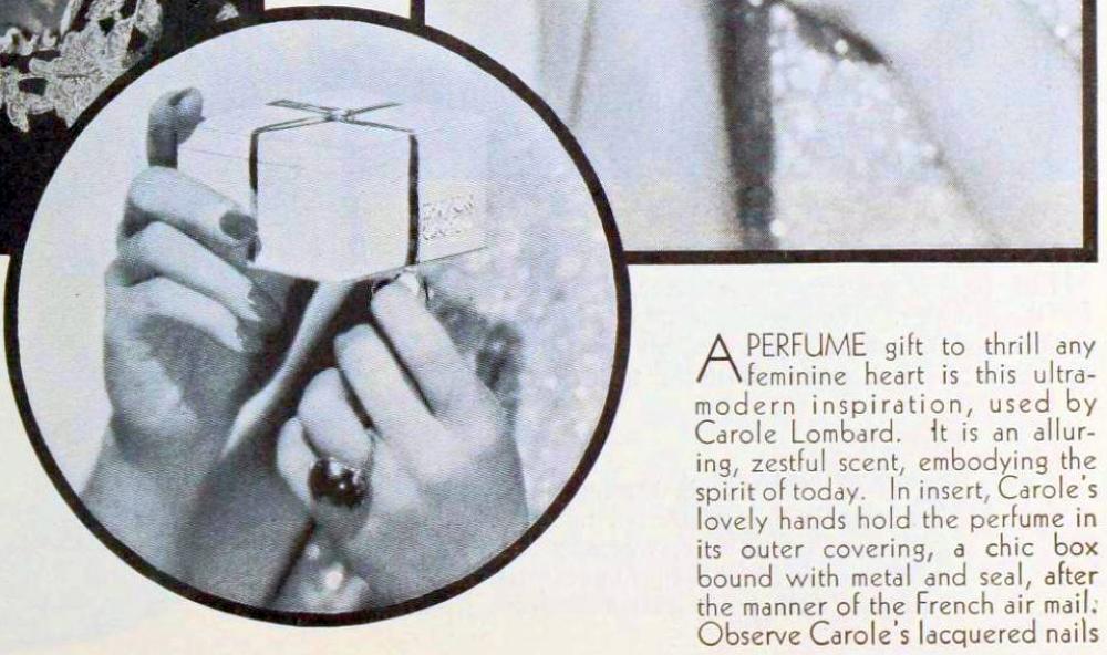 carole lombard photoplay january 1934ec