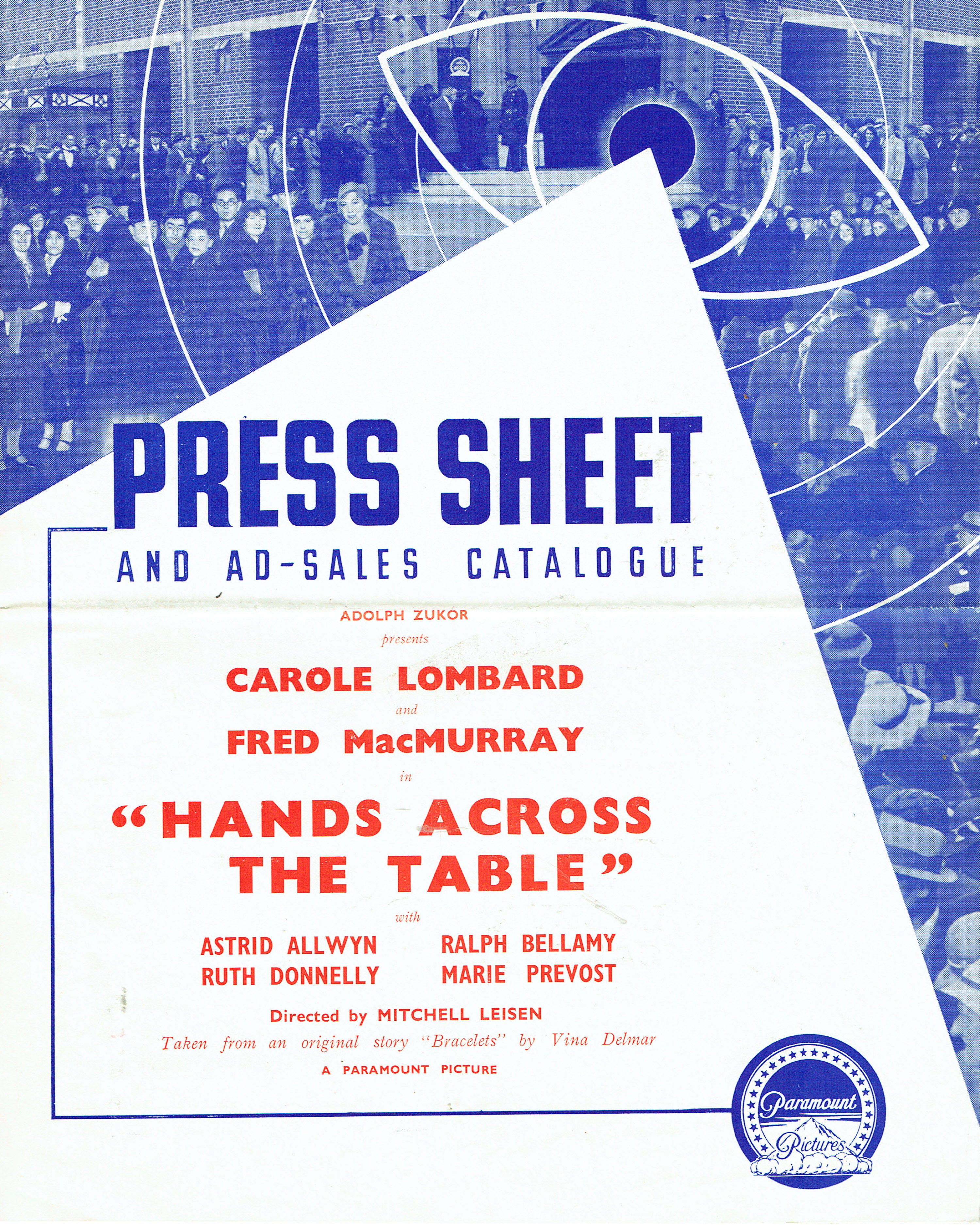 carole lombard hands across the table british pressbook 00a