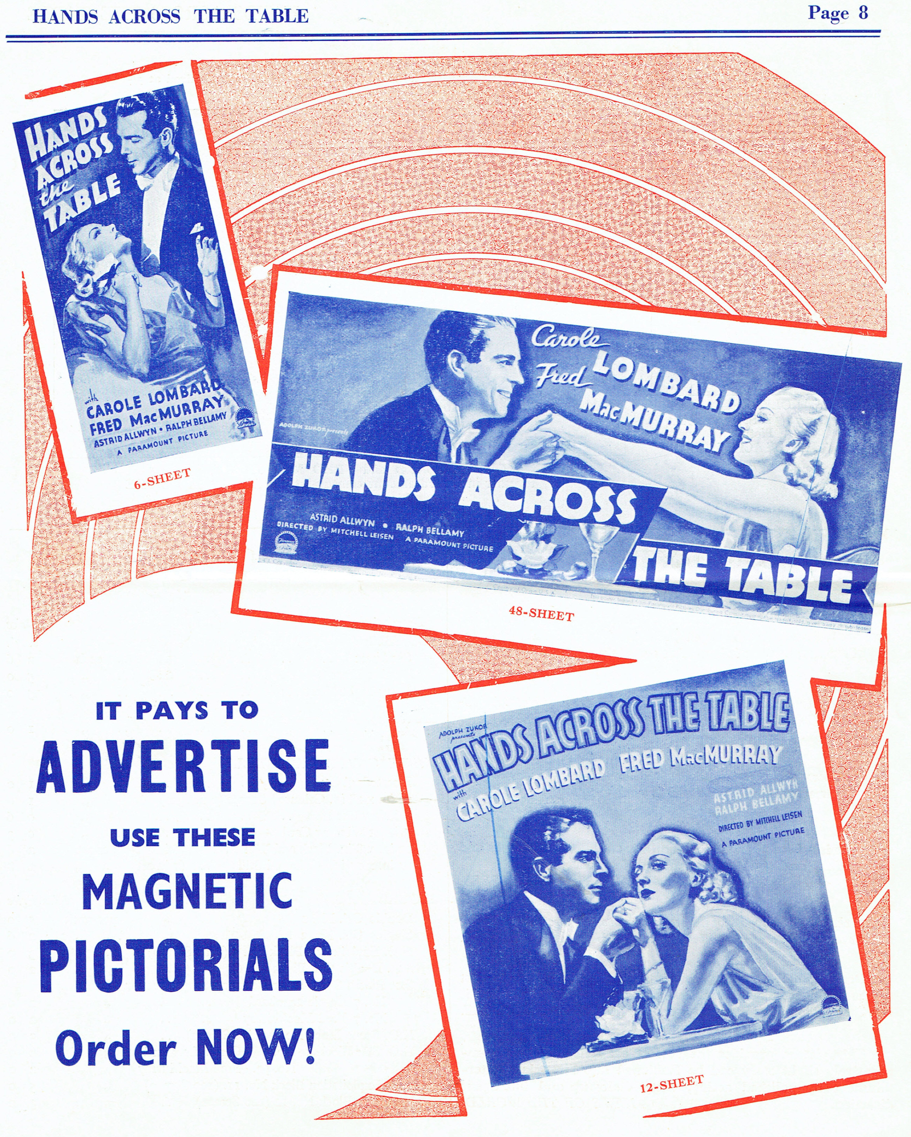 carole lombard hands across the table british pressbook 07b