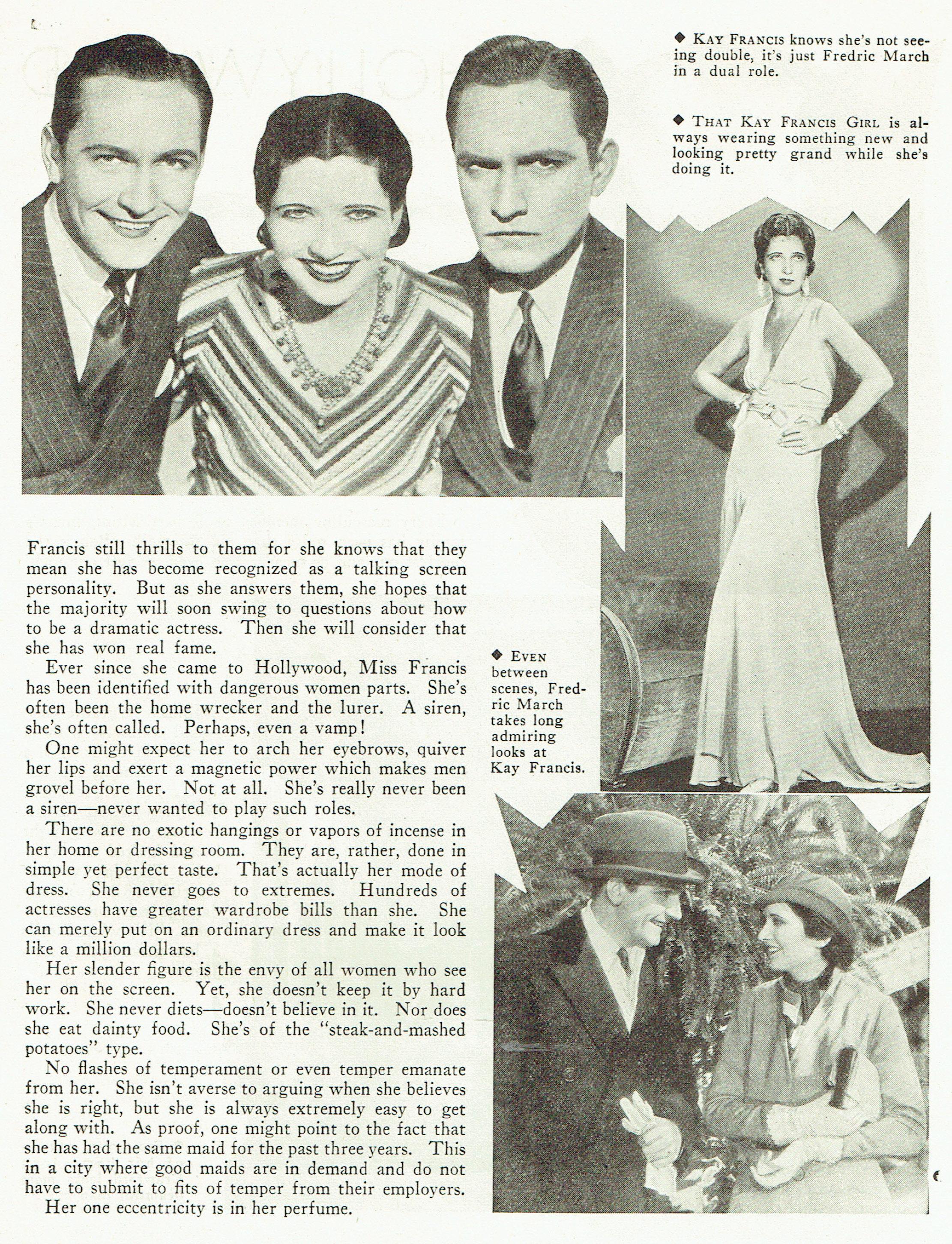 carole lombard publix theatre screen review april 1932ea