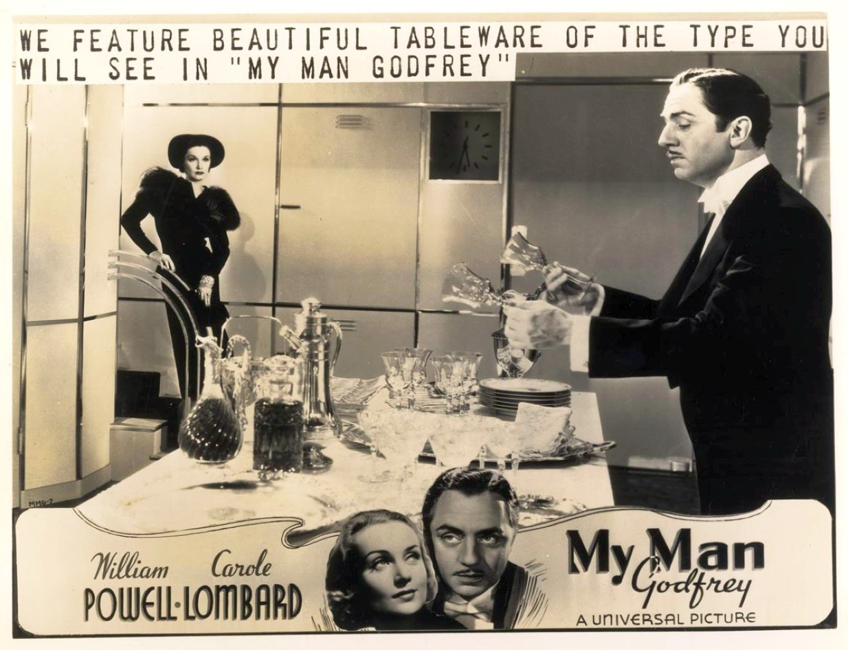 carole lombard my man godfrey advertising 00a