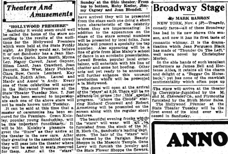 carole lombard 110533 sandusky register