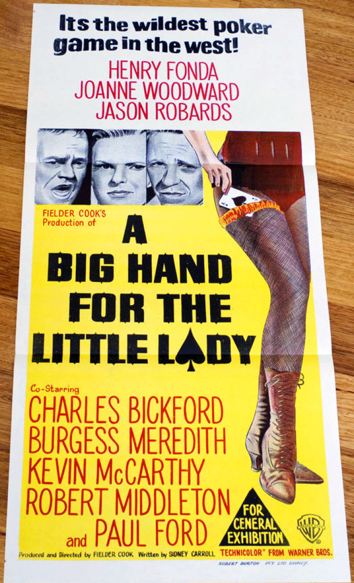 a big hand for the little lady daybill 00a