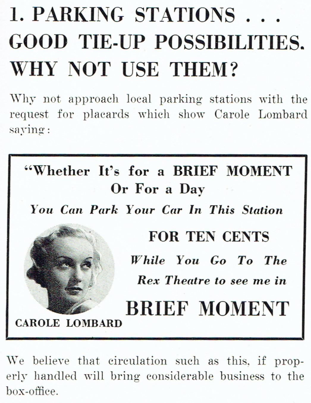 carole lombard brief moment pressbook 03a
