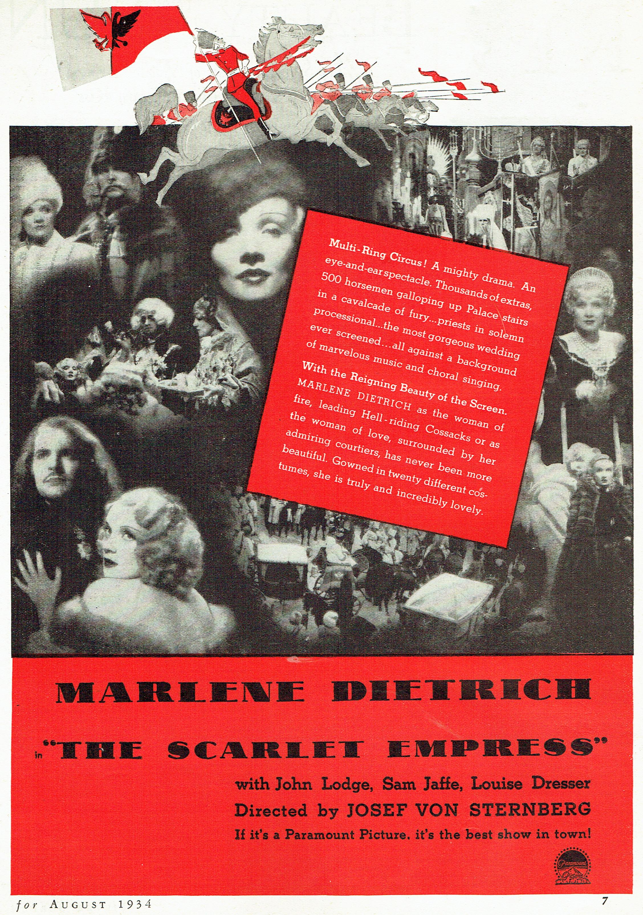 silver screen august 1934l