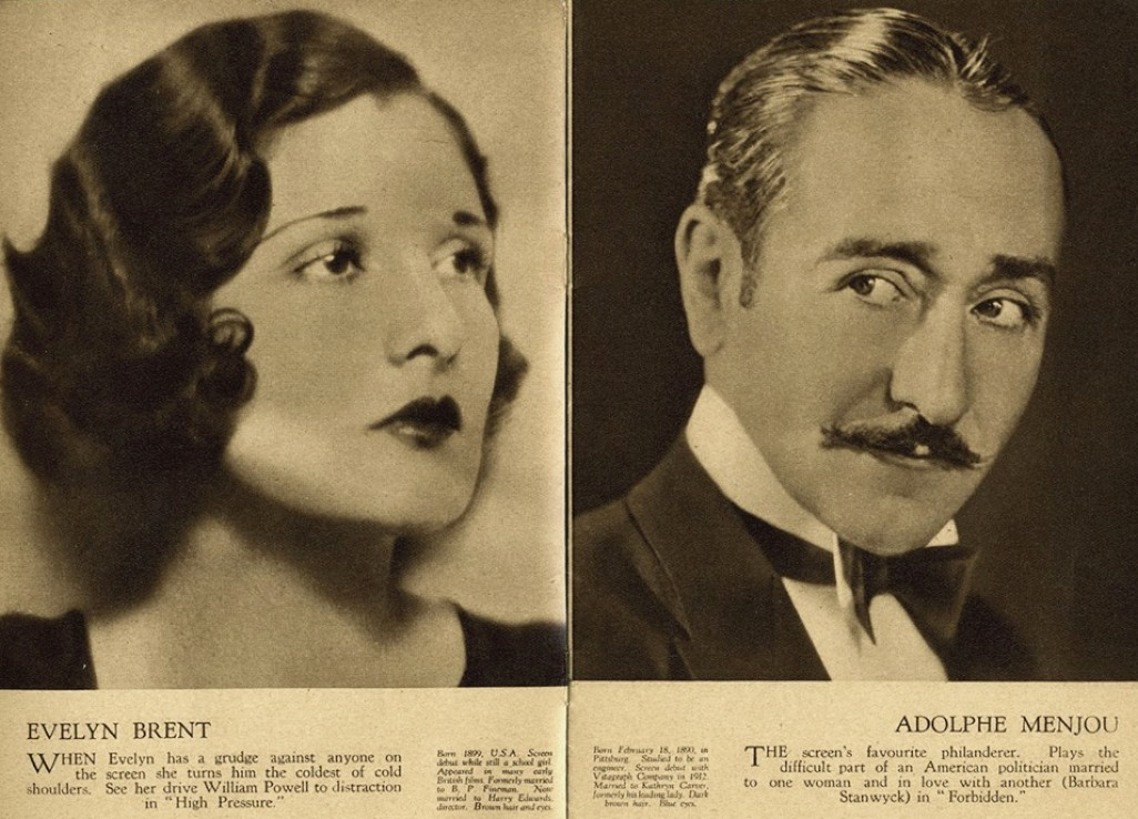 film weekly stars of the month june 1932ba