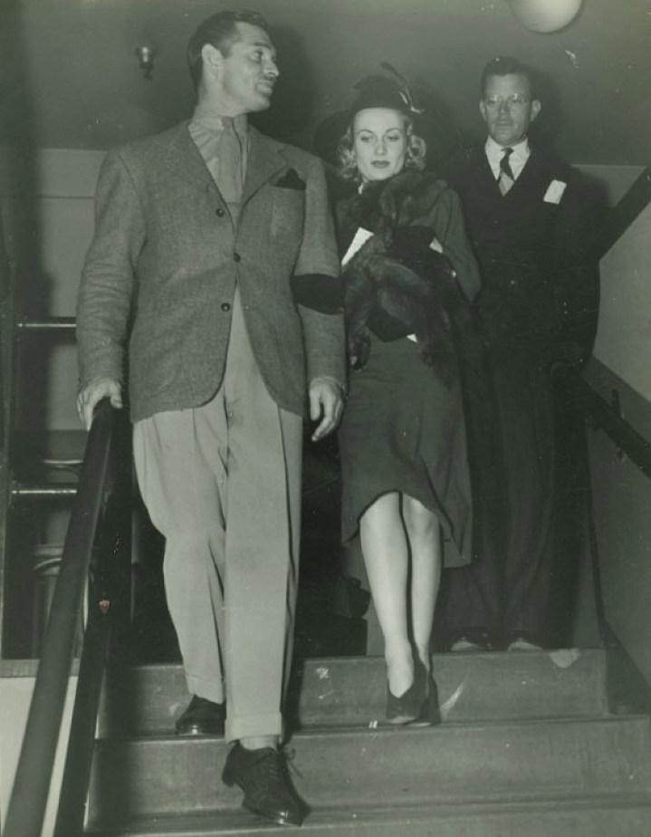 carole lombard clark gable 1938a premiere front