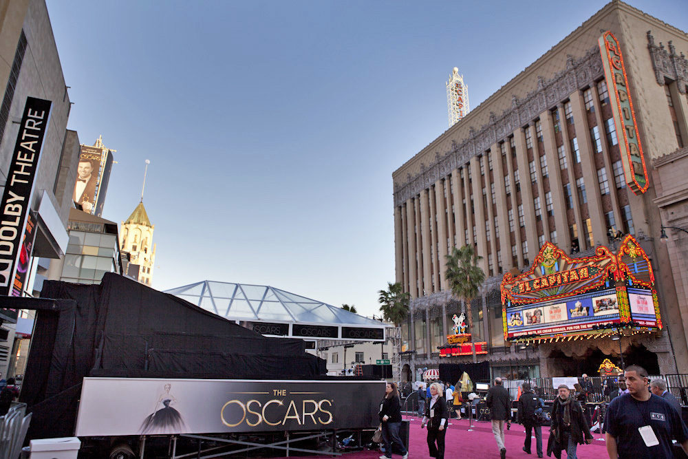 hollywood boulevard 2013 oscars