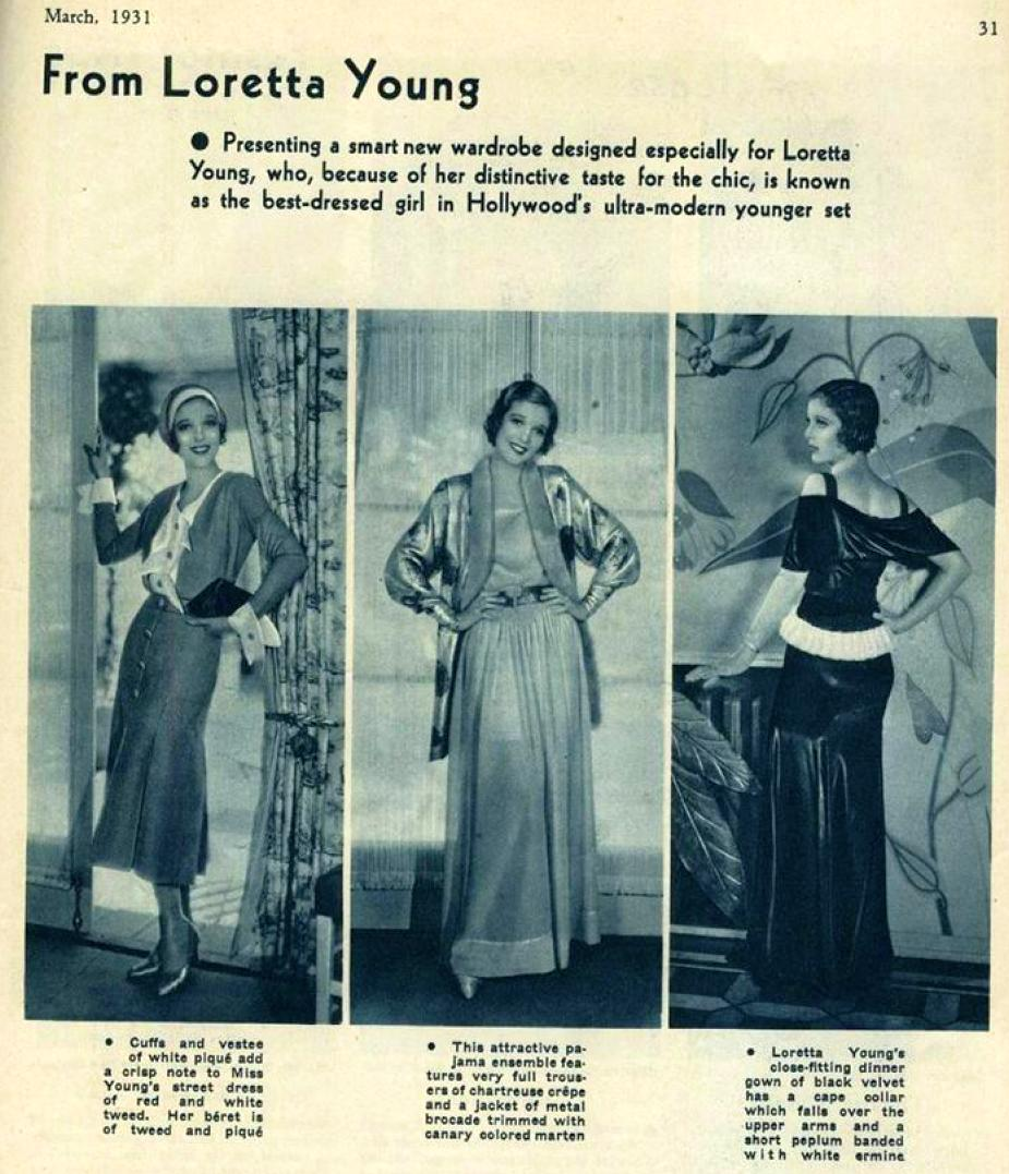 hollywood march 1931ga