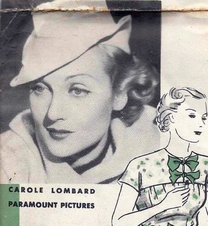 carole lombard hollywood pattern 835ba
