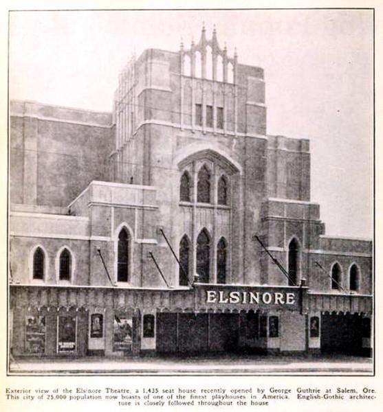 elsinore theatre salem oregon 1926a