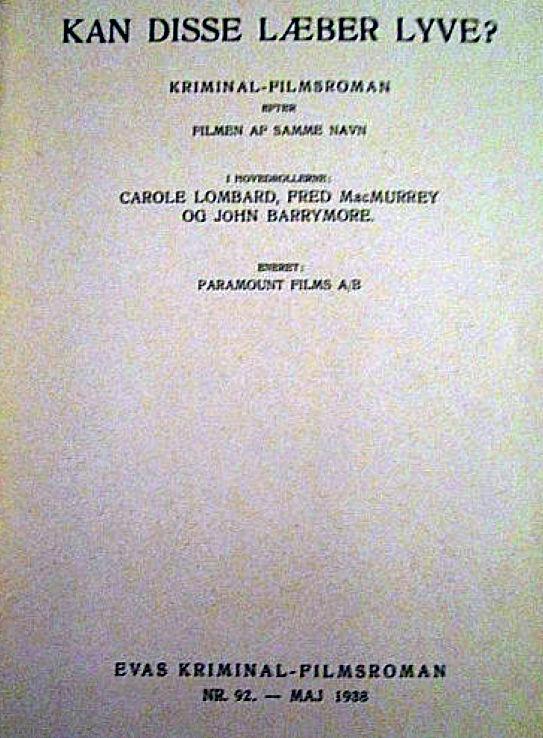carole lombard true confession danish novel program 01a