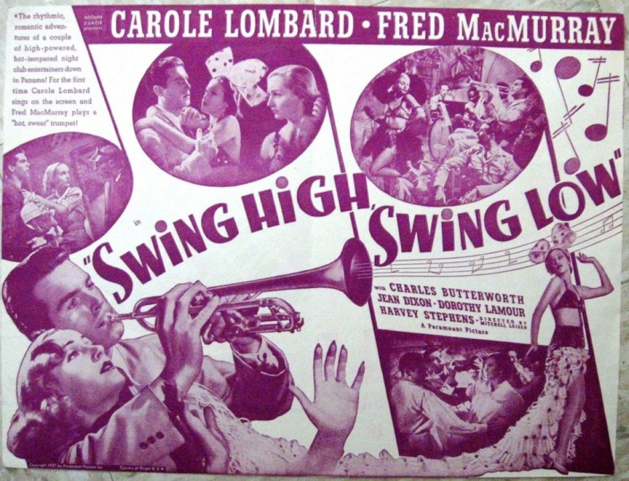 carole lombard swing high, swing low herald 00