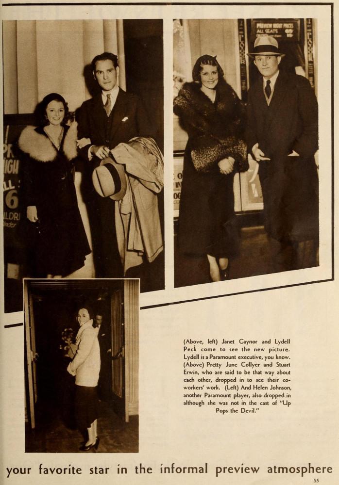 carole lombard modern screen august 1931fa