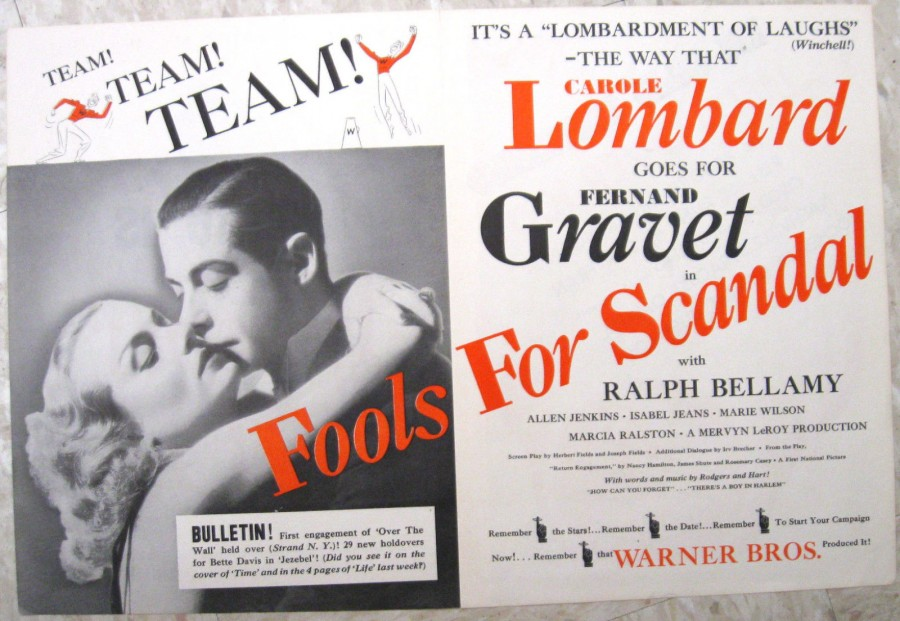 carole lombard fools for scandal ad 01a