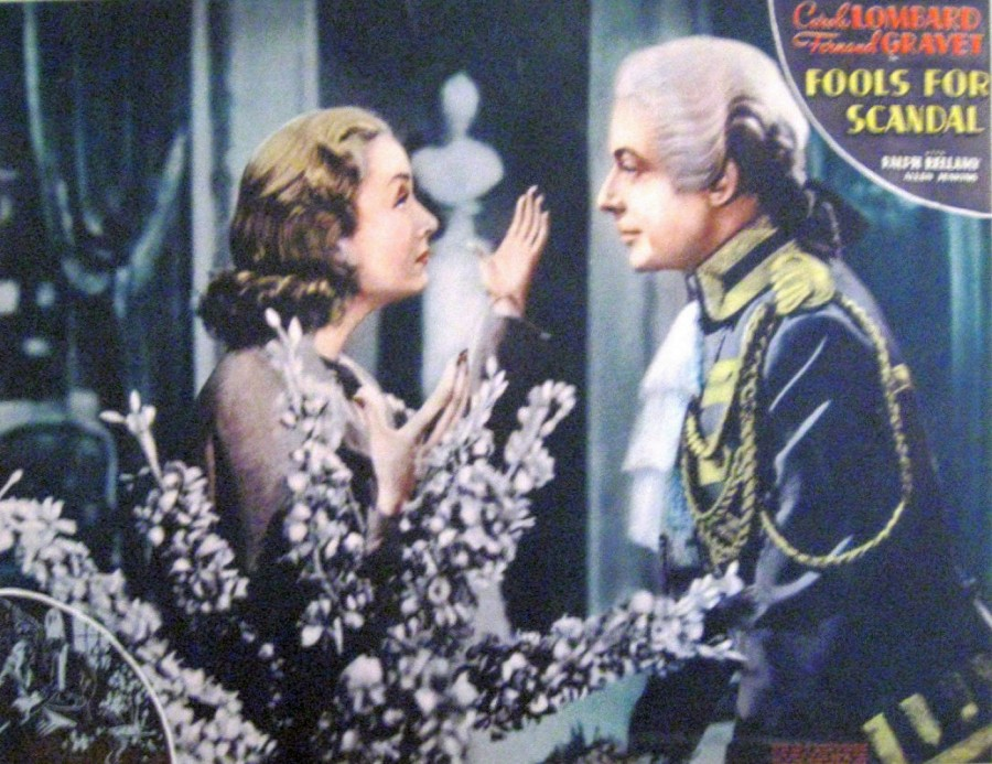 carole lombard fools for scandal lobby card 07a