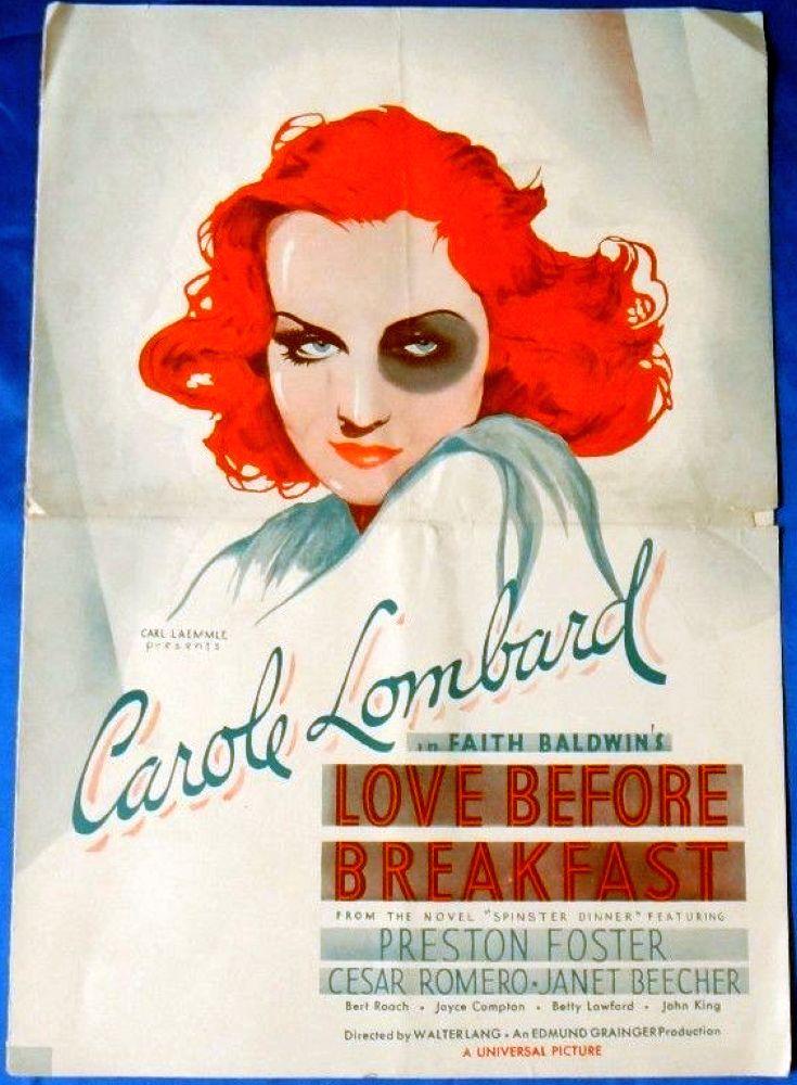 carole lombard love before breakfast press kit 00a
