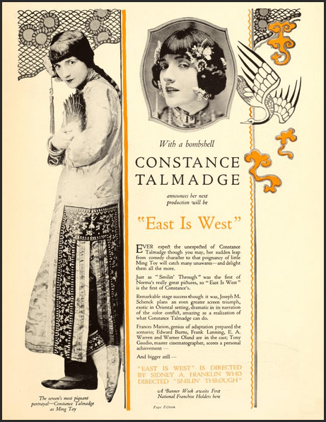 constance talmadge east is west 00