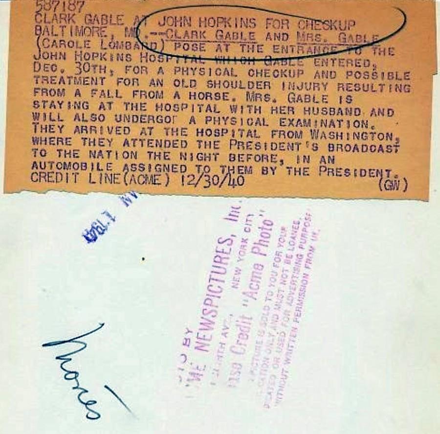 carole lombard clark gable 1940 johns hopkins 02a back