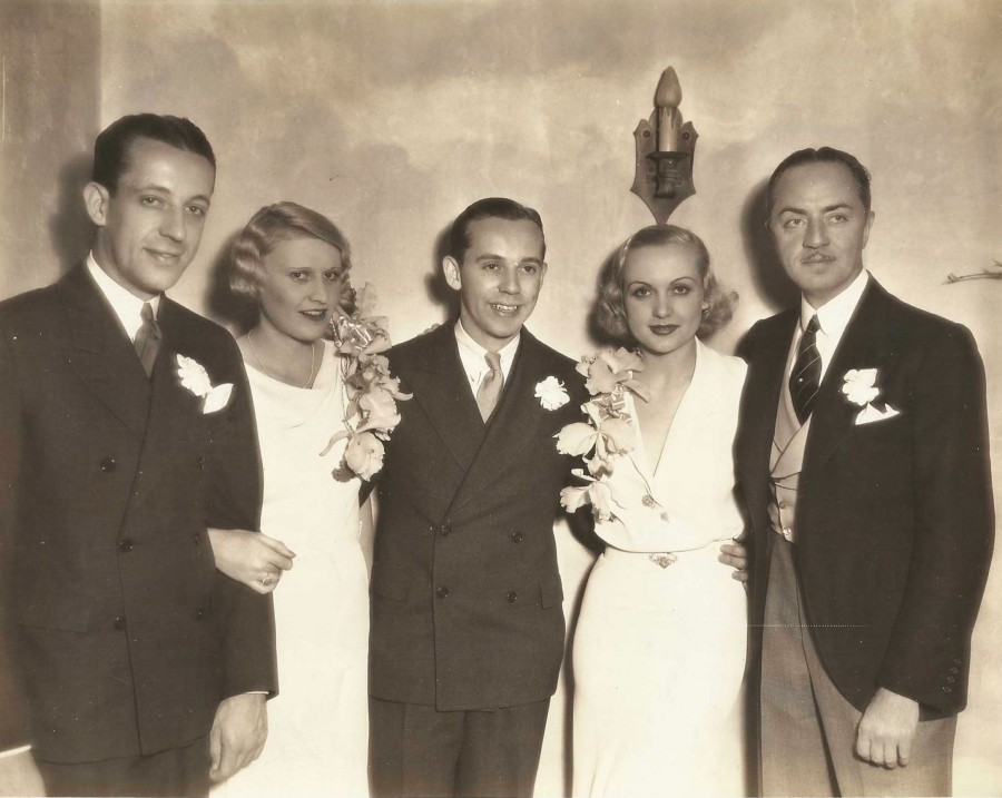 carole lombard william powell stuart peters wedding 00a front