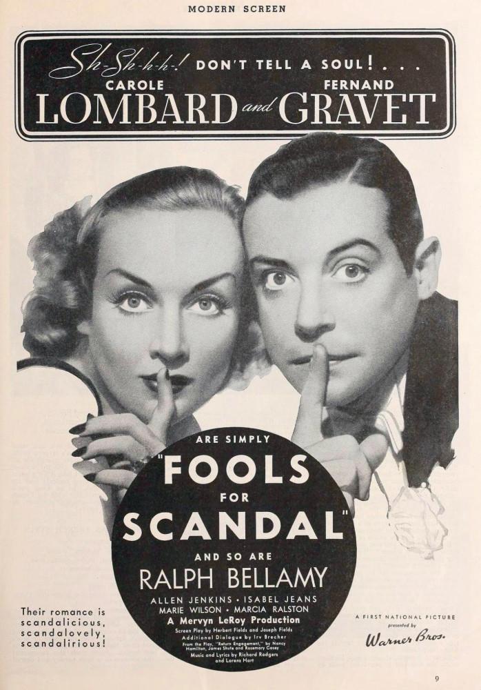 carole lombard modern screen may 1938da