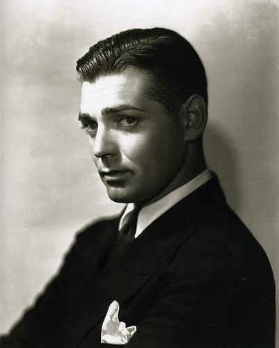 george hurrell clark gable 1932