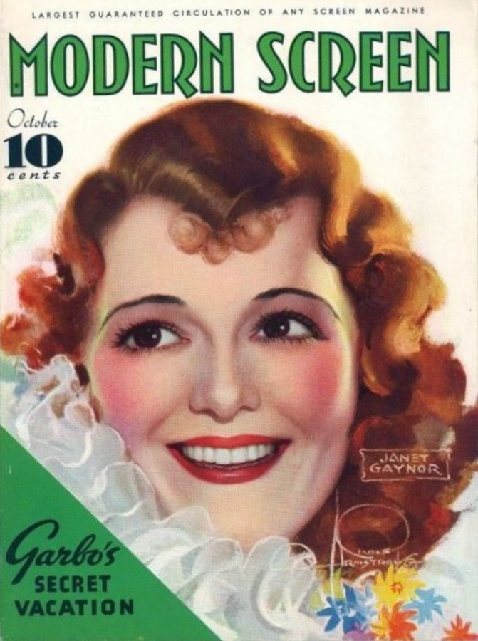 janet gaynor modern screen october 1934a