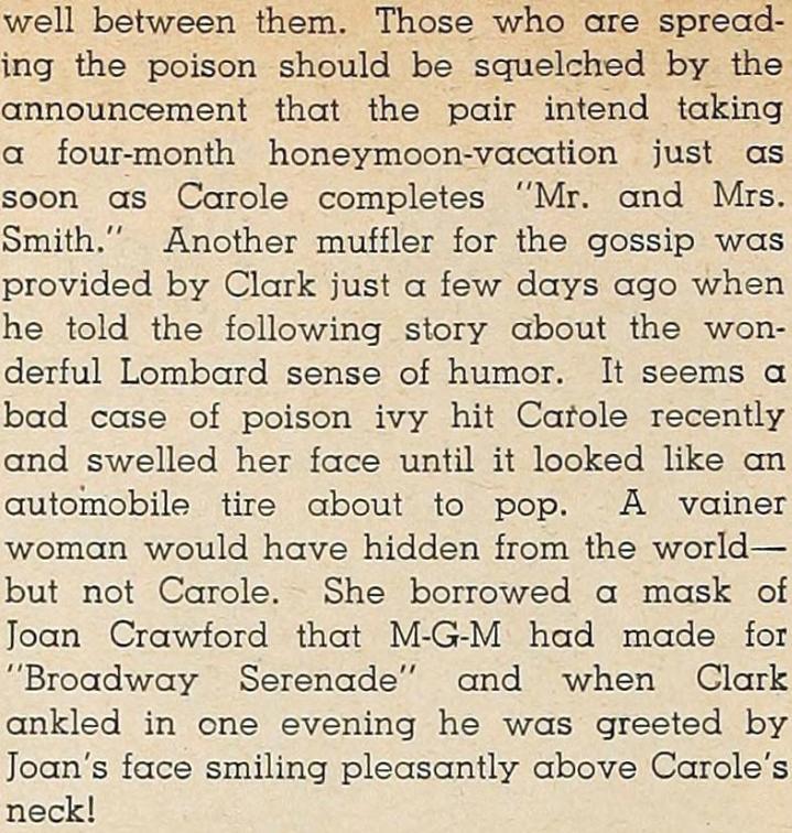 carole lombard modern screen october 1940ha