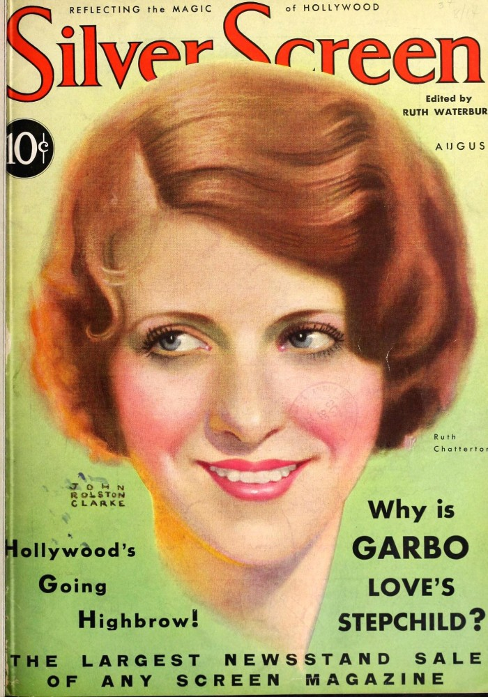 silver screen august 1931 cover large