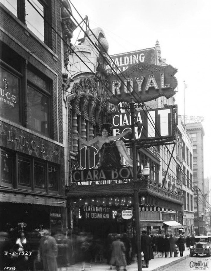 clara bow it 1927b royal theater kansas city