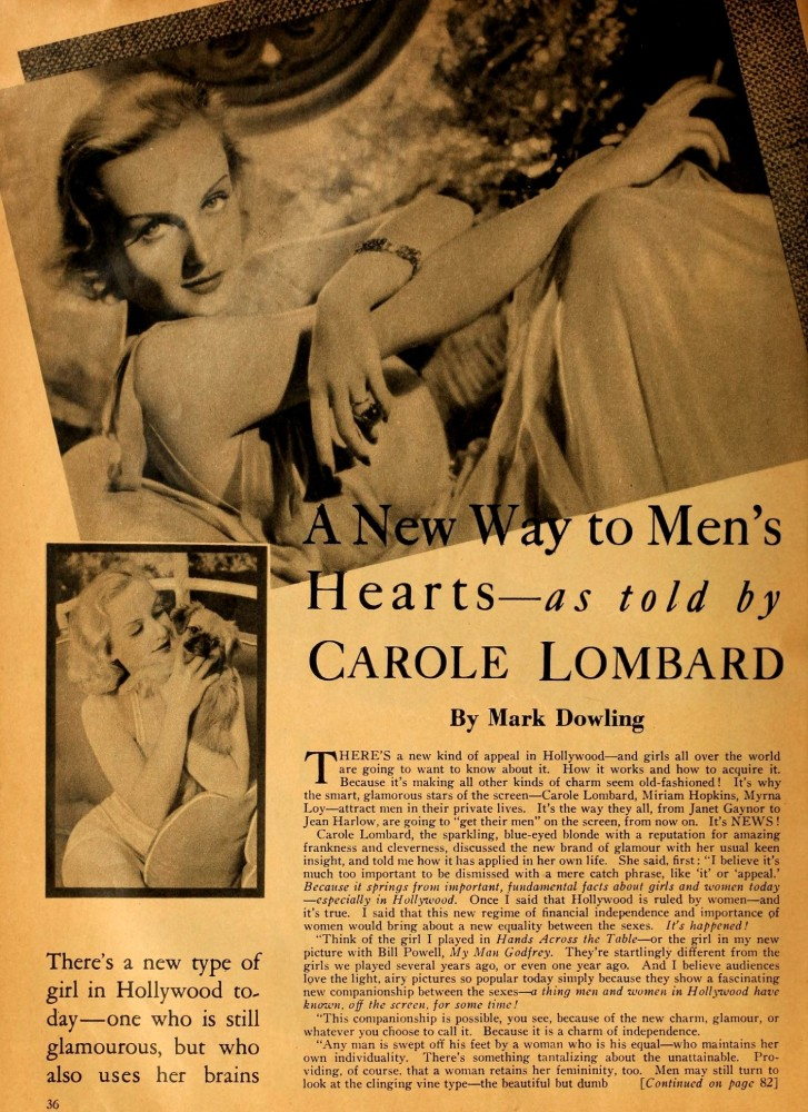 carole lombard motion picture july 1936 a new way to men's hearts 00a