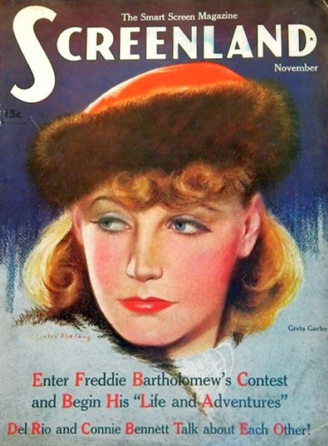 carole lombard screenland november 1935 cover