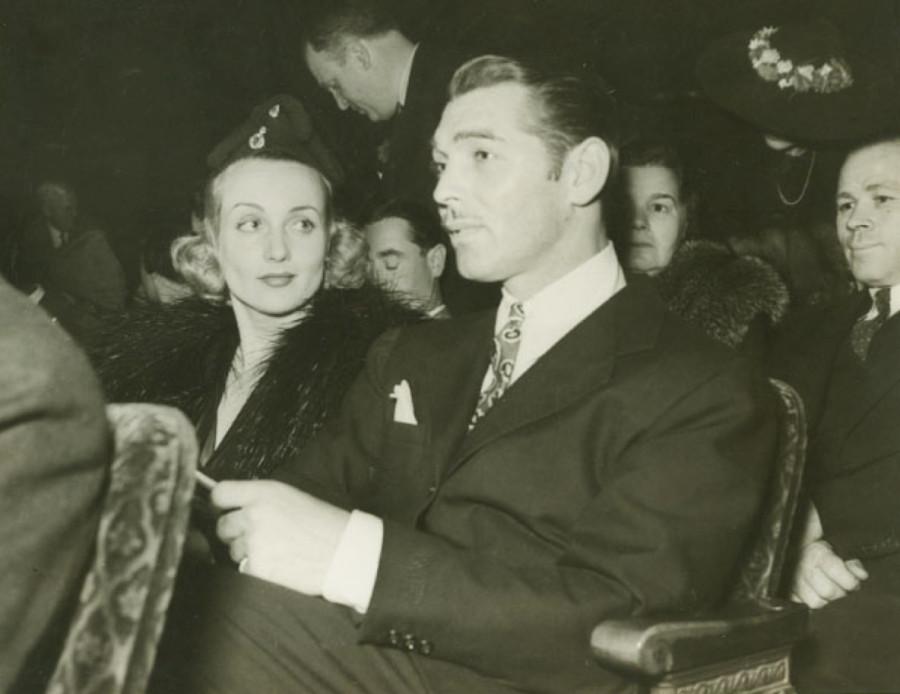 carole lombard clark gable 1938a shrine auditorium front